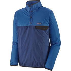 Patagonia Houdini Snap-T Pullover Hombre, azul